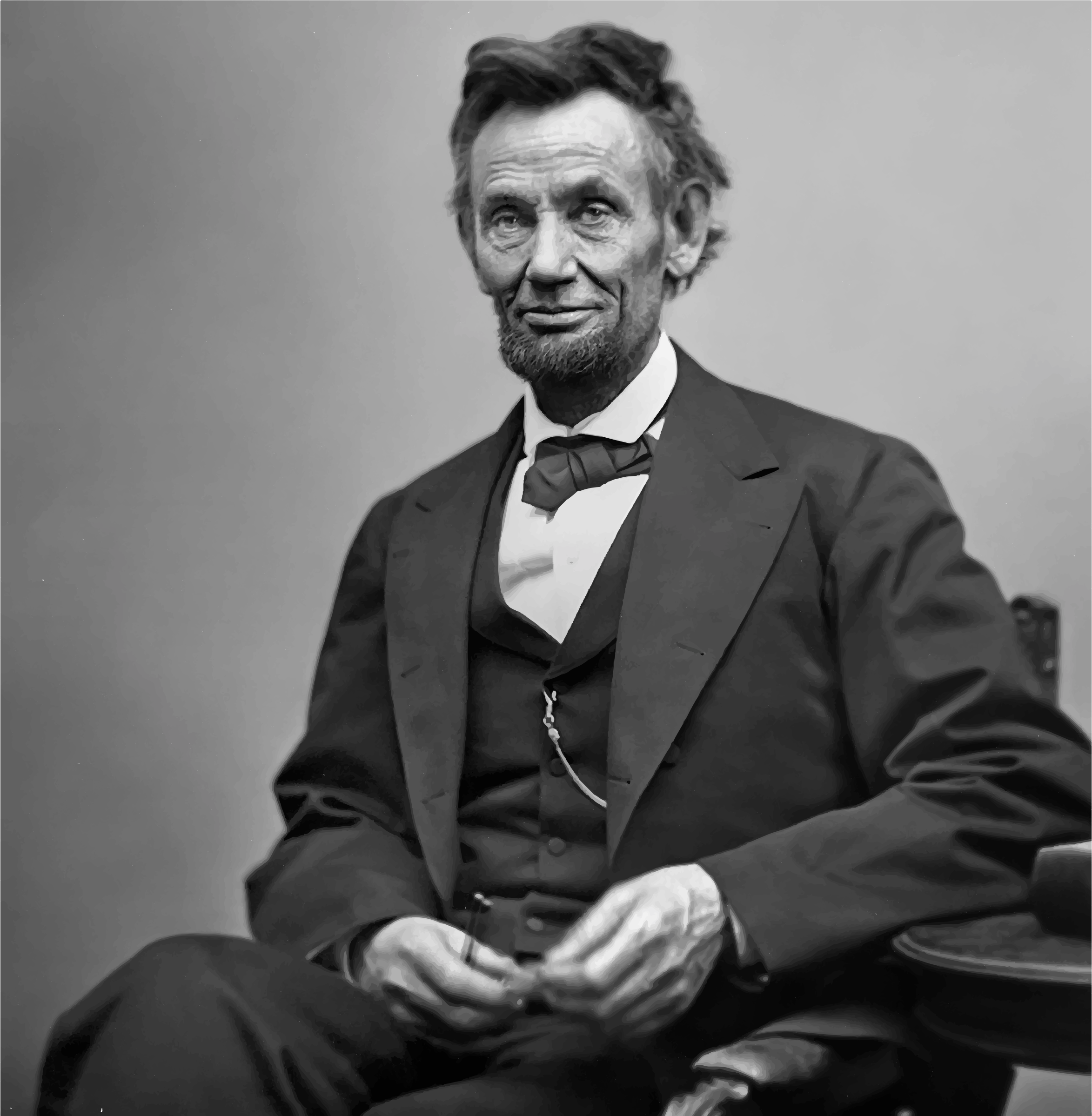 Lincoln Smiling